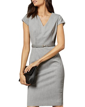 Ted Baker - Michahd Belted Sheath Dress