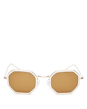 Illesteva Unisex Dylan Tate Octagonal Sunglasses, 46mm