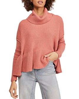 Free People - Layer Cake Trapeze Turtleneck Sweater