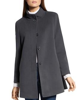 BASLER - Wool-Blend A-Line Coat