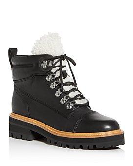 Marc Fisher LTD. - Women's Idella Shearling Hiker Boots - 100% Exclusive