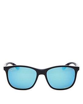 Ray-Ban - Men's Chromance Super Sporty Polarized Square Sunglasses, 58mm