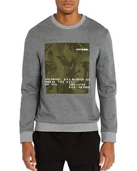 Avirex - Camo Graphic Logo Sweatshirt