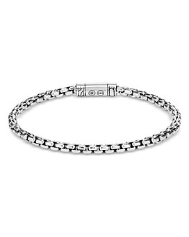 JOHN HARDY - Sterling Silver Classic Chain Box Chain Bracelet