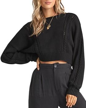 Billabong - Night Falls Cropped Sweater