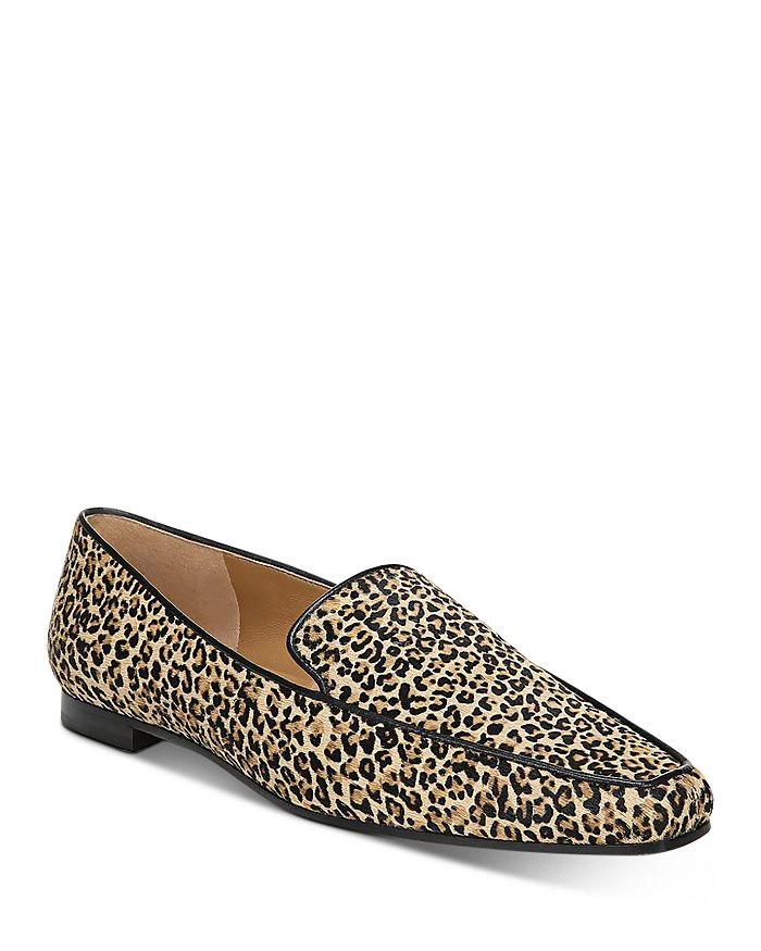 Via Spiga - Women's Aylee Leopard-Print Loafers