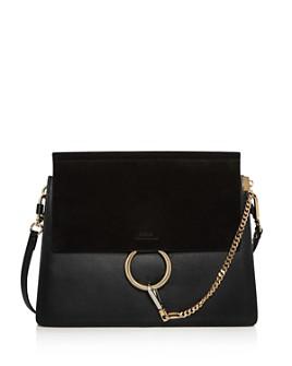 Chloé - Faye Medium Color-Block Shoulder Bag