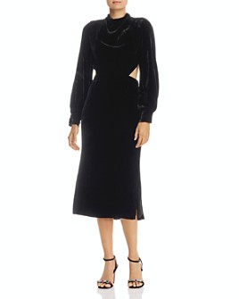 Fame and Partners - Elizabeth Velvet Dress