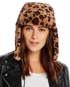 AQUA - Faux Fur Trapper Hat - 100% Exclusiv