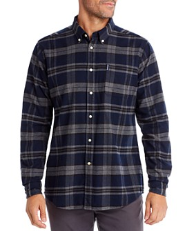 Barbour - Plaid Tailored Slim Fit Button-Down Shirt