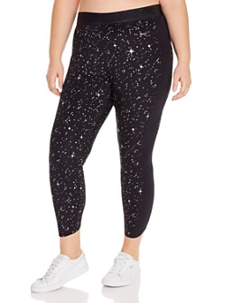 Nike Plus - Metallic Print Leggings