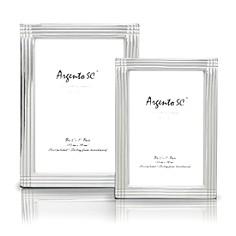 "Argento ""Axis"" Sterling Silver Frames - Bloomingdale's Registry_0"