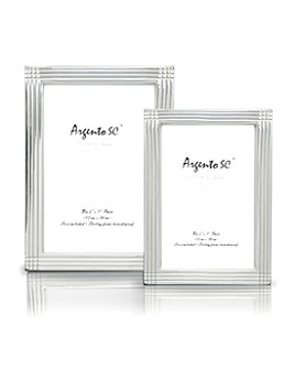 "Argento SC - Argento ""Axis"" Sterling Silver Frames"