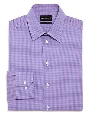 Checked Regular Fit Dress Shirt