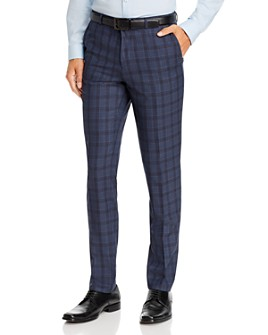 HUGO - Hets Plaid Extra Slim Fit Suit Pants - 100% Exclusive