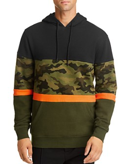 Pacific & Park - Camo Color-Block Hooded Sweatshirt - 100% Exclusive