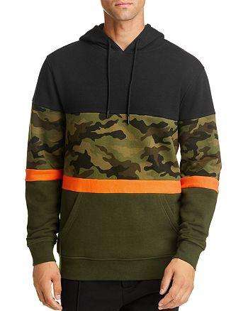 Pacific & Park - Camo Color-Block Hooded Sweatshirt - 100% Exclusive