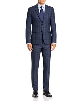 HUGO - Plaid Extra Slim Fit Suit Separates - 100% Exclusive