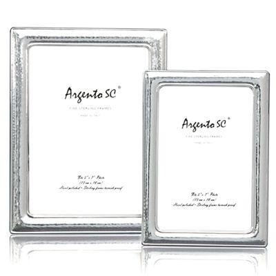 """Argento """"Hammered"""" Frame, 5"""" x 7"""""""