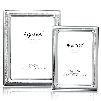 """Argento SC - Argento """"Hammered Small"""" Frame, 8"""" x 10"""""""