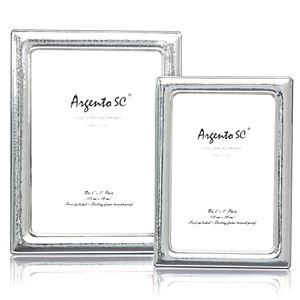 Argento Hammered Frame, 4 x 6
