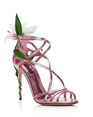 Dolce & Gabbana Sandals D & G WOMEN'S HIGH-HEEL SANDALS