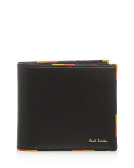 Paul Smith - Stripe Edge Leather Bi-Fold Wallet