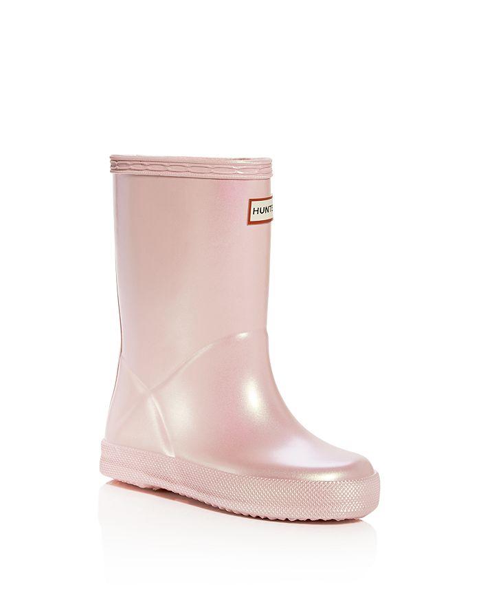 Hunter - Girls' Original First Classic Nebula Rain Boots - Walker, Toddler