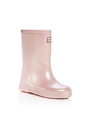 Hunter Girls' Original First Classic Nebula Rain Boots - Walker, Toddler
