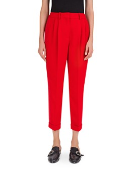 The Kooples - Marta Pleated Crepe Pants