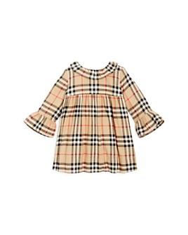 Burberry - Girl's' Kitty Vintage Check Ruffle Dress - Baby
