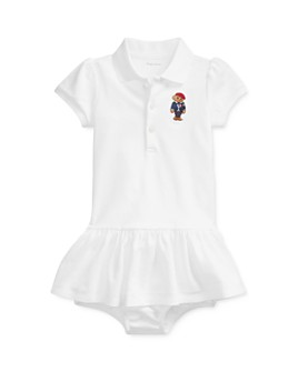 Ralph Lauren - Girls' Polo Bear Dress & Bloomers Set - Baby