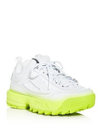 FILA - Women's Disruptor II Brights Fade Low-Top Sneakers