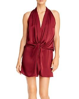 Ramy Brook - Marie Sleeveless Twist-Front Dress