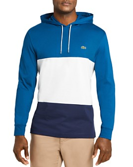 Lacoste - Color-Block Hooded Tee