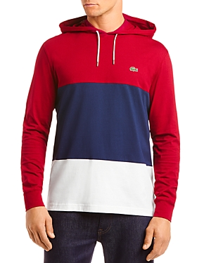 Lacoste Tops COLOR-BLOCK HOODED TEE