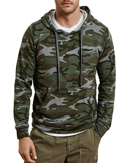 Velvet by Graham & Spencer - Camo Hooded Sweatshirt
