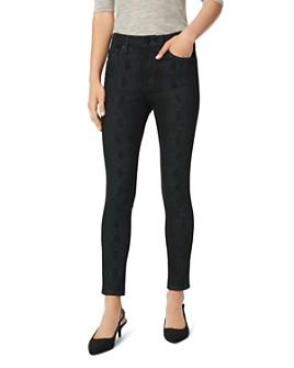 Joe's Jeans - The Icon Skinny Ankle Jeans in Black Snake
