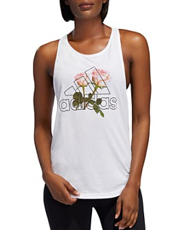 adidas Originals - Essentials Floral Logo Tank