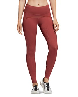 adidas by Stella McCartney - Believe This Laser-Cut Leggings