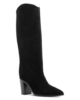 SCHUTZ - Women's Analeah Block Heel Tall Boots