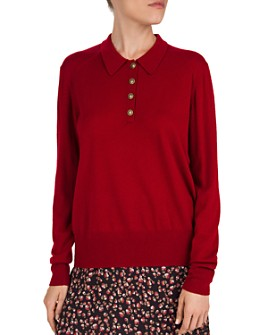 Gerard Darel - Sacha Wool & Cashmere Button-Front Sweater