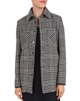 Gerard Darel - Verona Oversized Glen Plaid Jacket