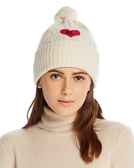 Polo Ralph Lauren - Heart Cable-Knit Beanie
