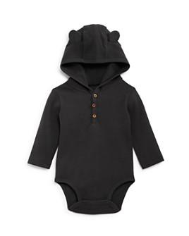 Oliver & Rain - Boys' Hooded Waffle-Knit Bodysuit - Baby