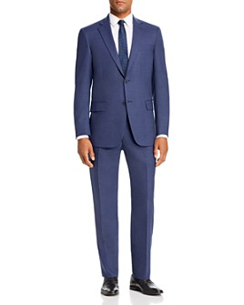 Hart Schaffner Marx - Textured Solid Classic Fit Suit