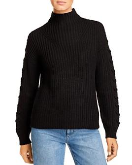 Vero Moda - Glendora Lace-Up-Sleeve Sweater