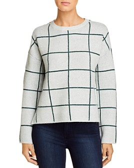 Vero Moda - Doffy Windowpane Jacquard Sweater