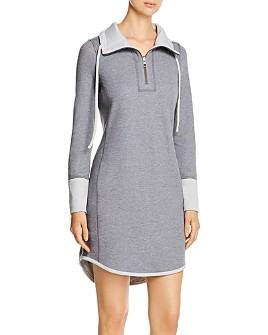 Tommy Bahama - Half-Zip Sweatshirt Dress