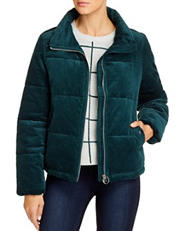 Vero Moda - Levine Corduroy Puffer Coat